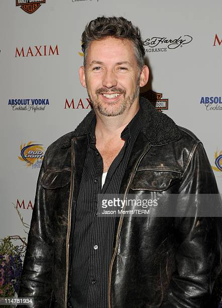 Comedian Harland Williams arrives at the 11th annual Maxim Hot 100 Party with HarleyDavidson ABSOLUT VODKA Ed Hardy Fragrances and ROGAINE held at...
