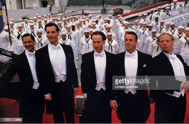Comedian Harmonists, D 1997, Regie: Joseph Vilsmaier, MAX TIDOF, HEINRICH SCHAFMEISTER, ULRICH NOETHEN, HEINO FERCH, BEN BECKER, Stichwort: Frack,...