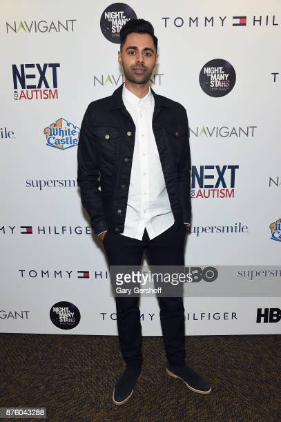 Comedian Hasan Minhaj attends HBO's Night Of Too Many Stars America Unites For Autism Programs at The Theater at Madison Square Garden on November 18...