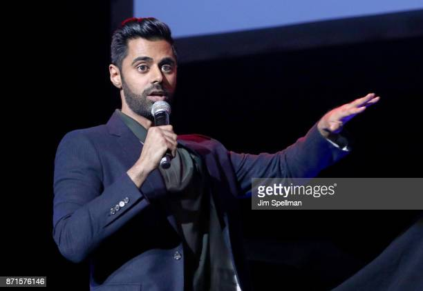 Comedian Hasan Minhaj attends the 11th Annual Stand Up for Heroes at The Theater at Madison Square Garden on November 7, 2017 in New York City.