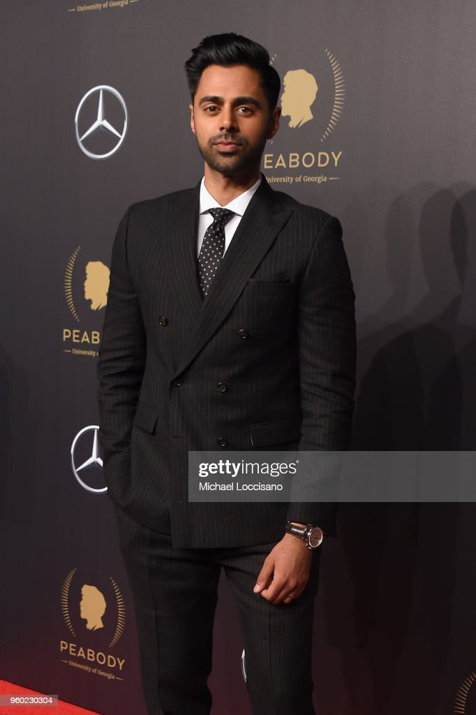 Comedian Hasan Minhaj attends The 77th Annual Peabody Awards Ceremony at Cipriani Wall Street on May 19, 2018 in New York City.