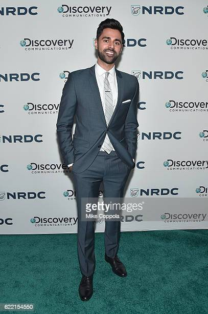 Comedian Hasan Minhaj attends the Natural Resources Defense Council's 'NRDC's Night of Comedy' Benefit with Seth Meyers John Oliver George Lopez Mike...
