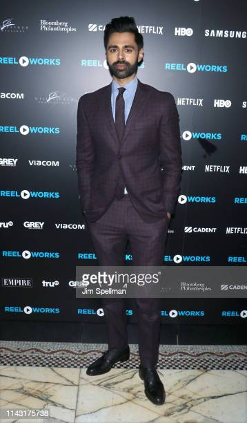 Comedian Hasan Minhaj attends the Reel Works Benefit Gala 2019 at Capitale on April 16, 2019 in New York City.