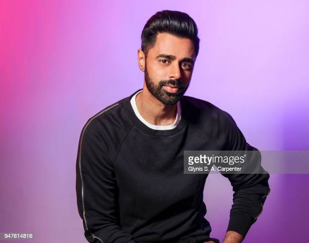 Comedian Hasan Minhaj is photographed for Bust Magazine on March 17 2017 in New York City