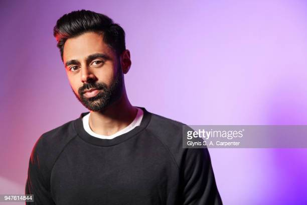 Comedian Hasan Minhaj is photographed for Bust Magazine on March 17, 2017 in New York City.