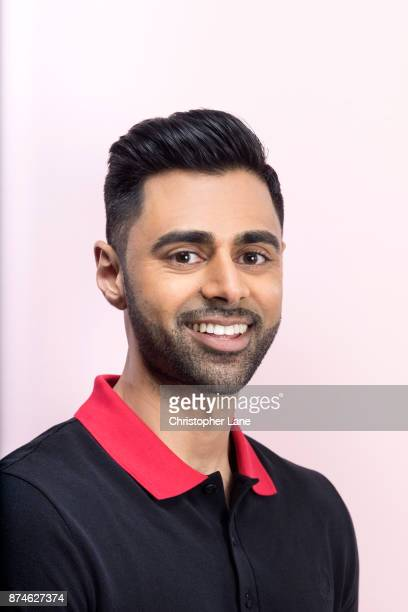 Comedian Hasan Minhaj is photographed for New York Times Magazine on June 6, 2017 in New York City.