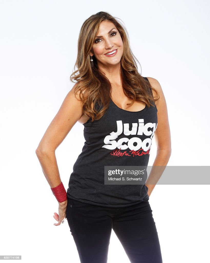 Comedian Heather McDonald poses during her appearance at The Ice House Comedy Club on August 19, 2017 in Pasadena, California.