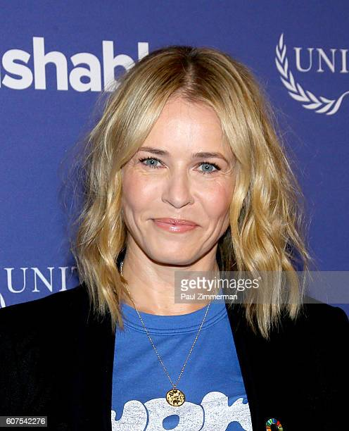 Comedian host of Netflix's 'Chelsea' Chelsea Handler attends 2016 Social Good Summit at 92Y on September 18 2016 in New York City