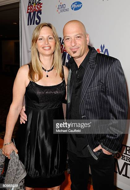 Comedian Howie Mandel and wife Terry Soil arrive to the 15th Annual Race to Erase MS at the Hyatt Regency on May 2 2008 in Century City California