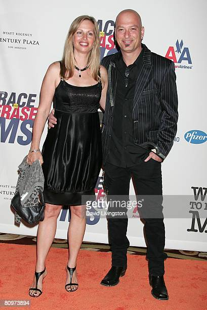 Comedian Howie Mandel and wife Terry Soil attend the 15th annual Race to Erase MS event at the Hyatt Regency Century Plaza Hotel on May 2 2008 in Los...