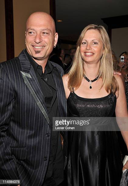 Comedian Howie Mandel and wife Terry Soil backstage at the 15th Annual Race to Erase MS at the Hyatt Regency on May 2 2008 in Century City California...