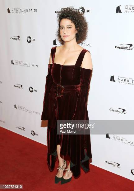 Comedian Ilana Glazer attends the 21st annual Mark Twain Prize for American Humor at The Kennedy Center on October 21 2018 in Washington DC