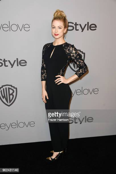 Comedian Iliza Shlesinger attends 19th Annual PostGolden Globes Party hosted by Warner Bros Pictures and InStyle at The Beverly Hilton Hotel on...