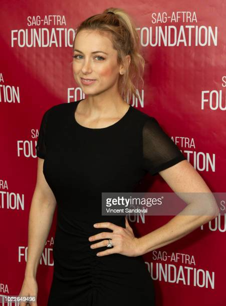 Comedian Iliza Shlesinger attends SAGAFTRA Foundation Conversations screening of 'Iliza Elder Millennial' at SAGAFTRA Foundation Screening Room on...