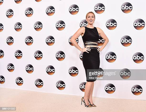 Comedian Iliza Shlesinger attends the Disney ABC Television Group TCA Summer Press Tour on August 4 2016 in Beverly Hills California