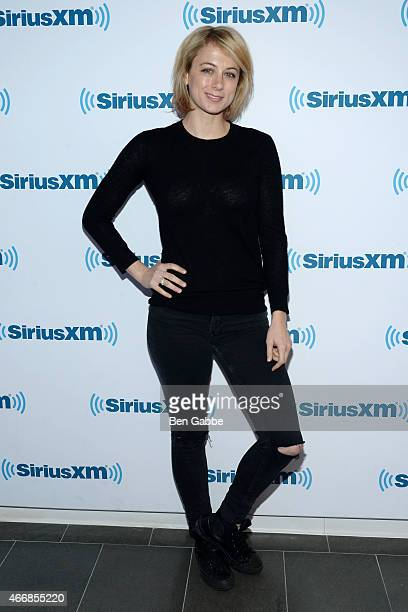 Comedian Iliza Shlesinger visits at SiriusXM Studios on March 19 2015 in New York City