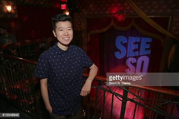 Comedian Irene Tu poses during Seeso's StandUp Streaming Fest premiere held at The Slipper Room on October 17 2016 in New York City