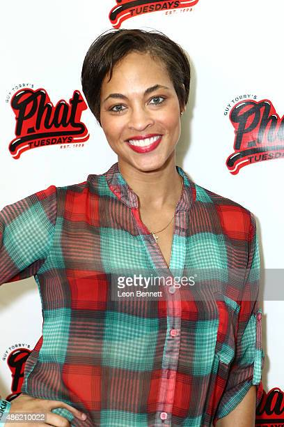Comedian Iva La'Shawn attends the 20th Anniversary Of Phat Tuesdays at Club Nokia on September 1 2015 in Los Angeles California
