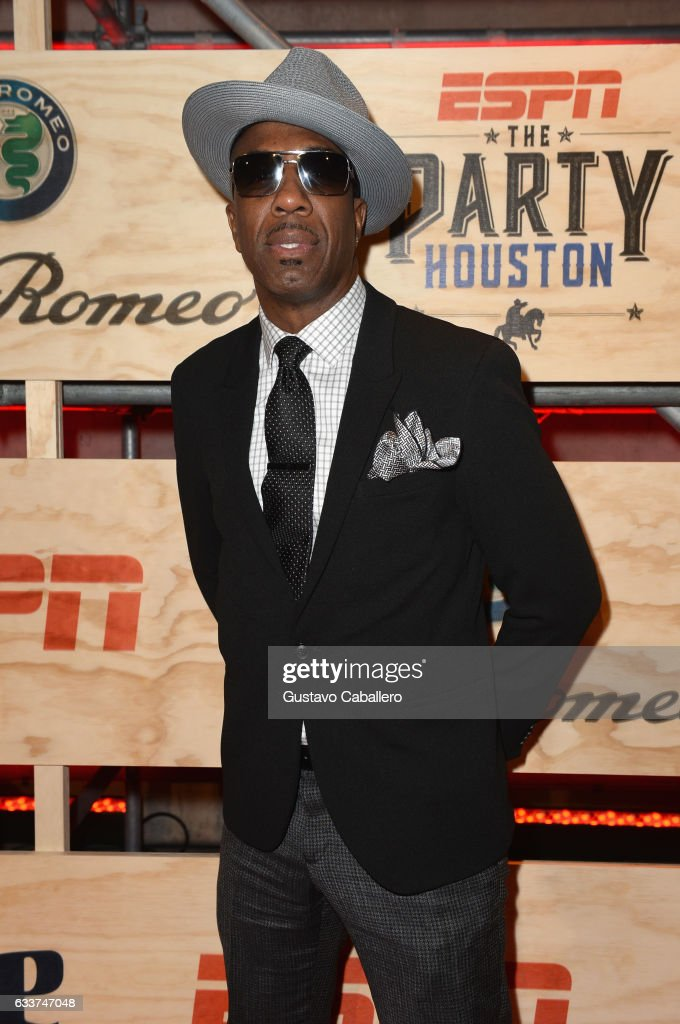 Comedian J. B. Smoove attends the 13th Annual ESPN The Party on February 3, 2017 in Houston, Texas.