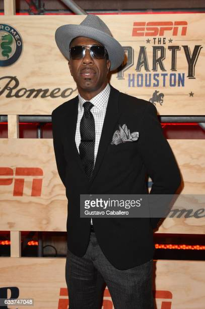 Comedian J B Smoove attends the 13th Annual ESPN The Party on February 3 2017 in Houston Texas