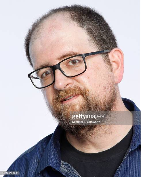 Comedian J Elvis Weinstein poses during his appearance at The Ice House Comedy Club on February 2 2018 in Pasadena California