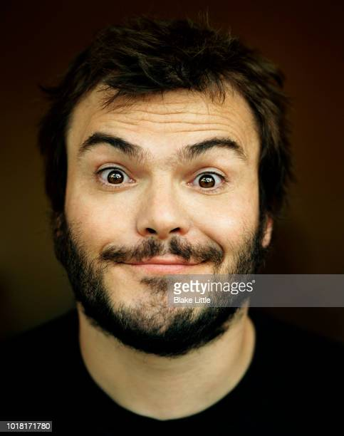 Comedian Jack Black is photographed for Time Magazine in 2008 in Beverly Hills California