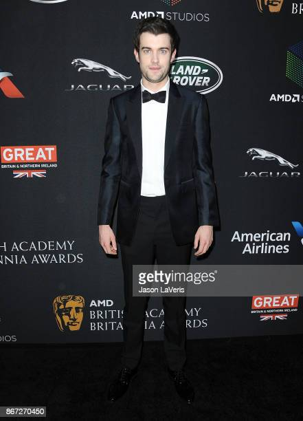 Comedian Jack Whitehall attends the 2017 AMD British Academy Britannia Awards at The Beverly Hilton Hotel on October 27, 2017 in Beverly Hills,...