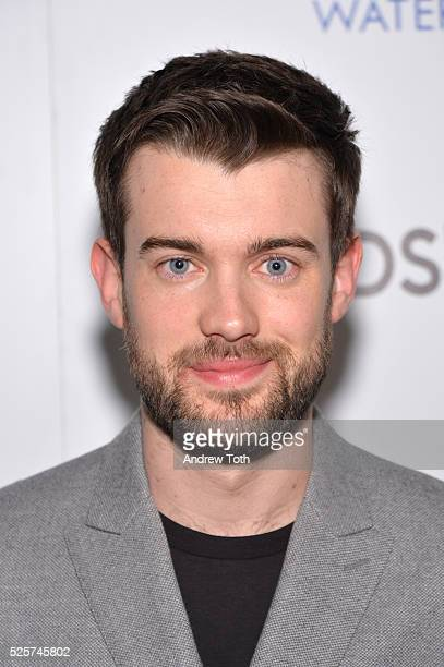 """Comedian Jack Whitehall attends The Cinema Society with Lands' End host a screening of Open Road Films' """"Mother's Day"""" on April 28, 2016 in New York..."""
