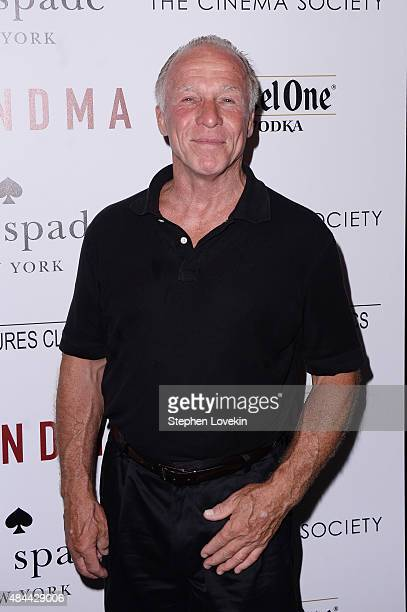 Comedian Jackie 'The Joke Man' Martling attends a screening of Sony Pictures Classics' 'Grandma' hosted by The Cinema Society and Kate Spade at...