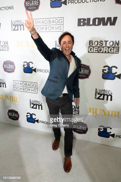 Comedian Jaime Monroe attends George Jung's Birthday Celebration And Screening Of Blow at TCL Chinese 6 Theatres on August 6 2018 in Hollywood...