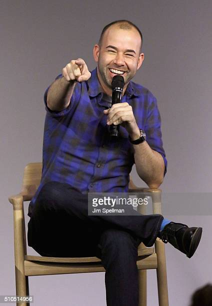 Comedian James Murray attends Apple Store Soho Presents Meet The Impractical Jokers at Apple Store Soho on February 15 2016 in New York City