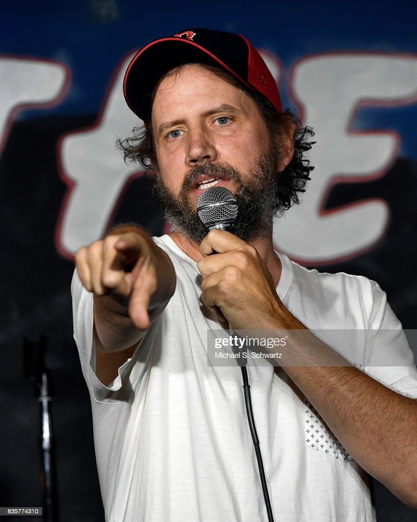Comedian Jamie Kennedy performs during his appearance at The Ice House Comedy Club on August 19, 2017 in Pasadena, California.