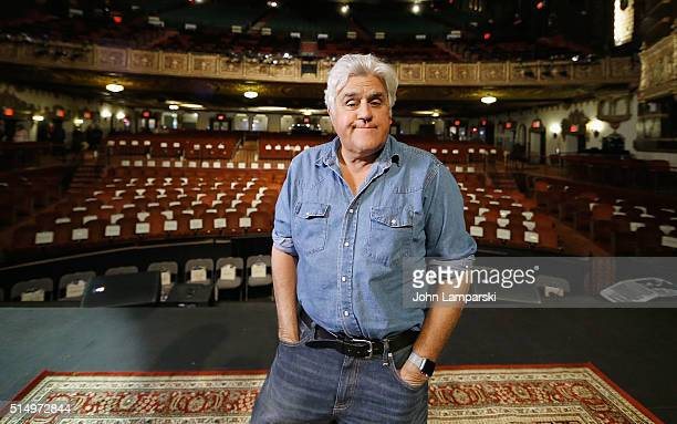 Comedian Jay Leno attends the 2016 St George Theatre Gala at St George Theater on March 11 2016 in New York City