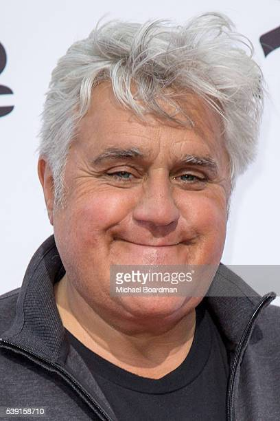 """Comedian Jay Leno attends the premiere of CNBC's """"Jay Leno's Garage"""" Season 2 at the Universal Studios Backlot on June 09, 2016 in Universal City,..."""