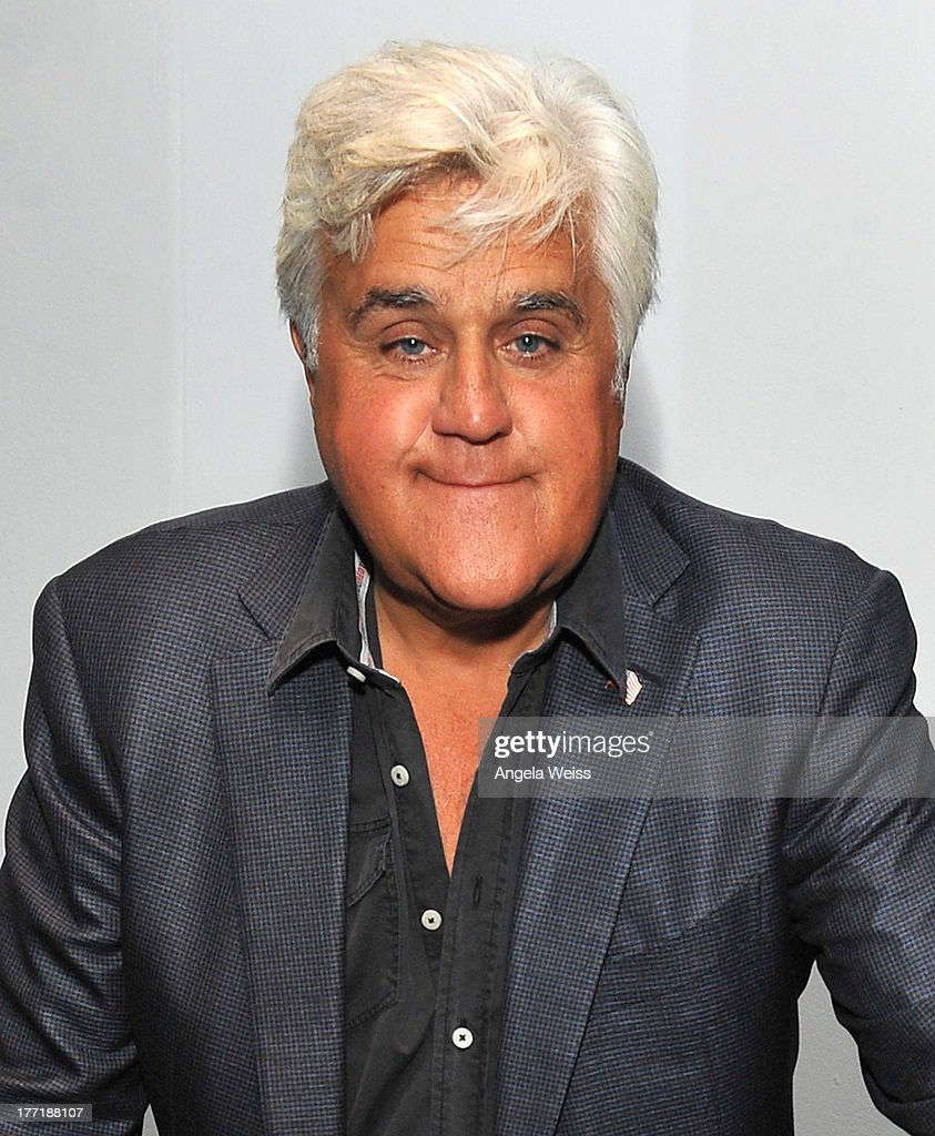 Comedian Jay Leno host Return to the Salt with Brough Superior presented by Matchless and Ace Cafe at the The Petersen Automotive Museum on August 21, 2013 in Los Angeles, California.