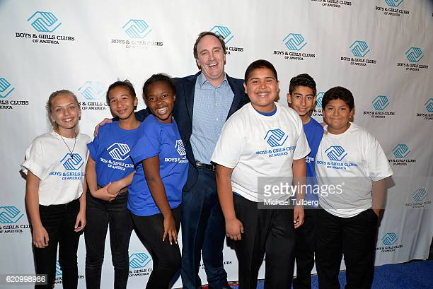 Comedian Jay Mohr and young friends attend the Boys and Girls Clubs of America's Annual Great Futures Gala at the Beverly Wilshire Four Seasons Hotel...