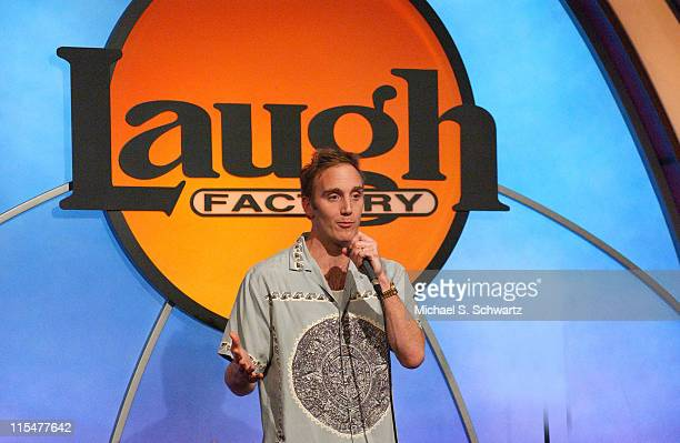 Comedian Jay Mohr during Toys For Tots Benefit at The Laugh Factory Show at The Laugh Factory in Hollywood California United States