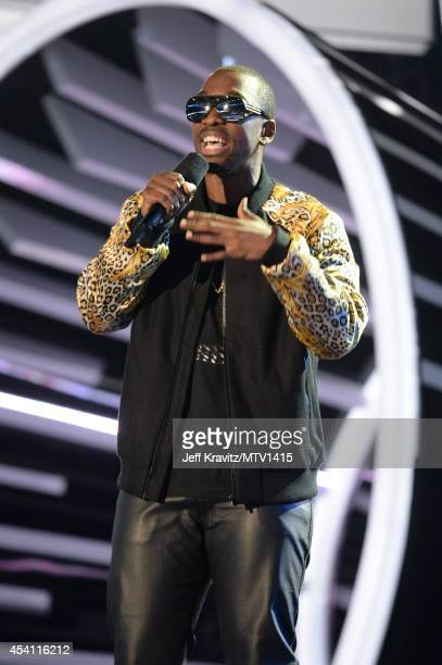 Comedian Jay Pharoah performs onstage during the 2014 MTV Video Music Awards at The Forum on August 24 2014 in Inglewood California