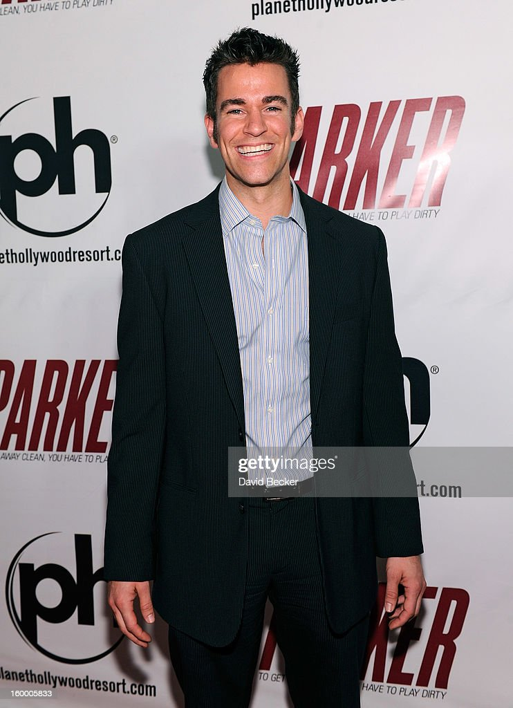 Comedian Jeff Civillico arrives at the premiere of FilmDistrict's 'Parker' at Planet Hollywood Resort & Casino on January 24, 2013 in Las Vegas, Nevada.