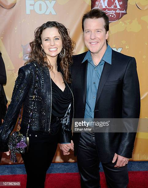Comedian Jeff Dunham and Audrey Murdick arrive at the American Country Awards 2010 held at the MGM Grand Garden Arena on December 6 2010 in Las Vegas...