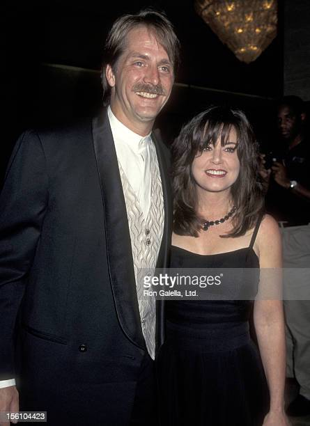 Comedian Jeff Foxworthy and wife Pamela Gregg attend 'The Roar Foundation and Shambala Preserve Benefit Gala' on August 16 1997 at Beverly Hilton...