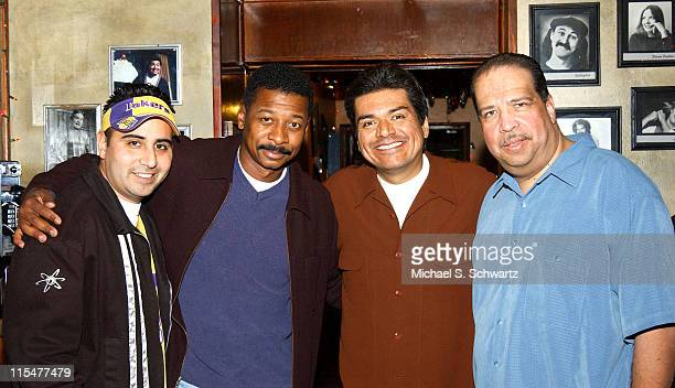 Comedian Jeff Garcia Actor Robert Townsend Comedians George Lopez and Rudy Moreno