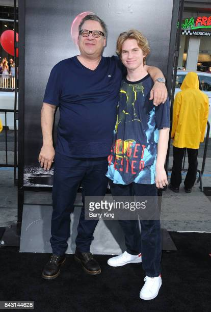Comedian Jeff Garlin and son Duke Garlin attend the premiere of Warner Bros Pictures and New Line Cinemas' 'It' at TCL Chinese Theatre on September 5...