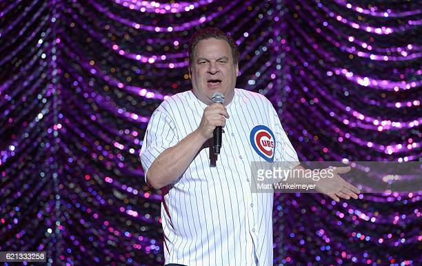 Comedian Jeff Garlin performs onstage during the International Myeloma Foundation 10th Annual Comedy Celebration at the Wilshire Ebell Theatre on...