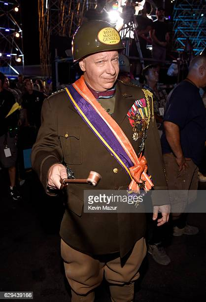 Comedian Jeff Ross is seen backstage at 'Spike's Rock the Troops' event held at Joint Base Pearl Harbor Hickam on October 22 2016 in Honolulu Hawaii...