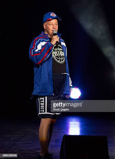 Comedian Jeffery Ross performs during the Oddball Comedy And Curiosity Festival at DTE Energy Music Theater on August 30 2015 in Clarkston Michigan