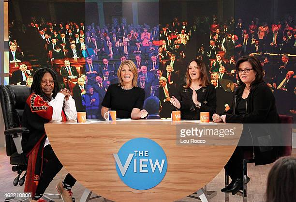THE VIEW Comedian Jen Kirkman guest cohosts today Wednesday January 21 2015 Guests include Stacy London and singer Natasha Bedingfield on Walt Disney...