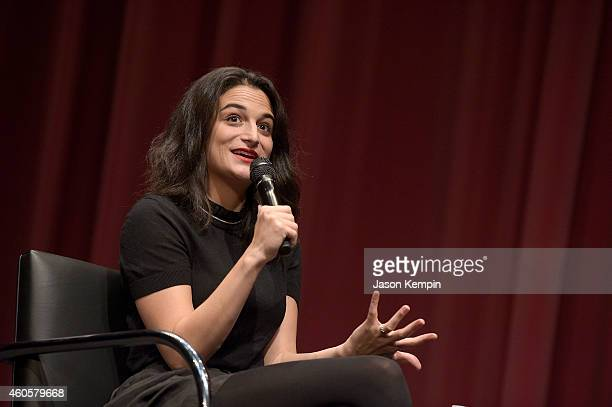 Comedian Jenny Slate attends a screening of Obvious Child at Billy Wilder Theater at The Hammer Museum on December 16 2014 in Westwood California