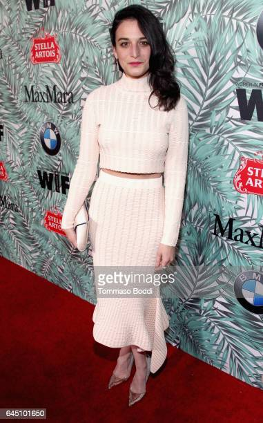 Comedian Jenny Slate attends the tenth annual Women in Film PreOscar Cocktail Party presented by Max Mara and BMW at Nightingale Plaza on February 24...