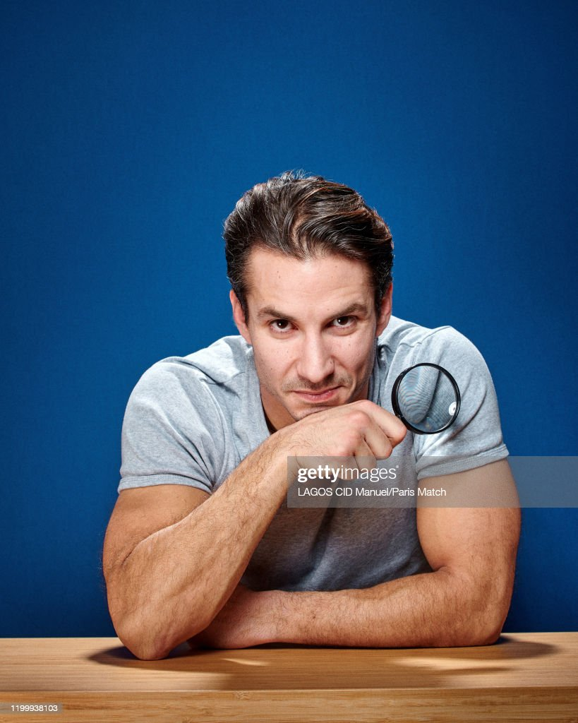 Comedian Jeremy Ferrari Is Photographed For Paris Match On January News Photo Getty Images